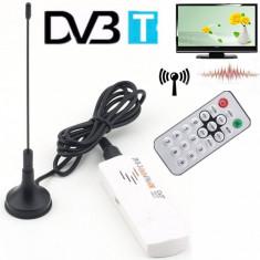 TV tuner USB DVB-T+DAB+FM+SDR, HDTV, Radio FM scanner nou !