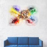 Tablou Canvas, Creioane colorate - 20 x 30 cm