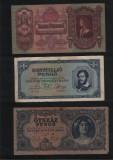 Set / Lot 18 bancnote diferite Ungaria pengo milpengo / penghei / vezi scan, Europa