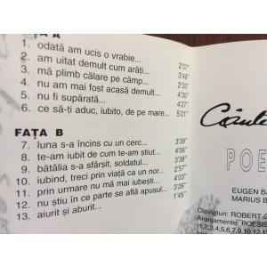 poesis cantec soptit album caseta audio muzica folk pop rock roton ro 3052 1996