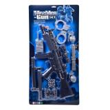 Set de joaca Machine Gun, arma si accesorii, 10 piese, Oem