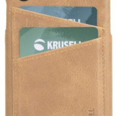 Protectie Spate Krusell Sunne Cover 2 Card KRS61503 pentru Apple iPhone XS Max (Maro)