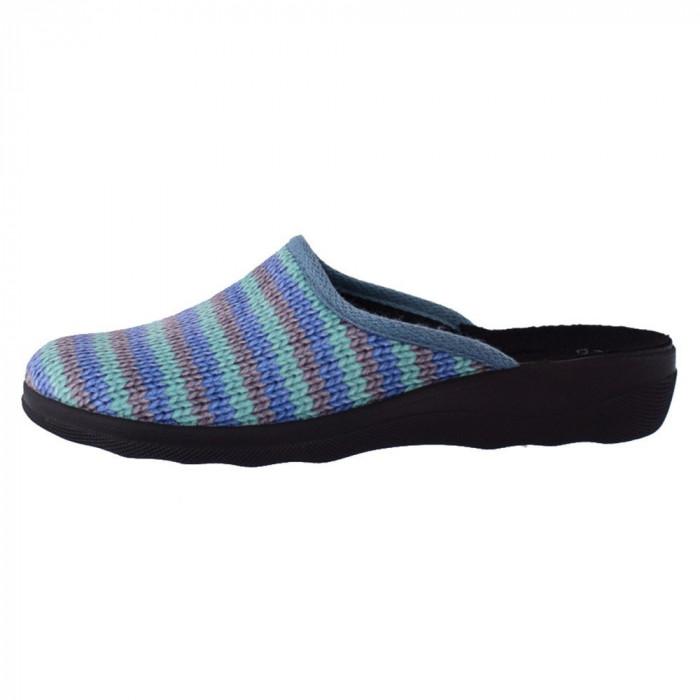 Papuc de casa dama, din textil, marca Inblu, CA91-004-BLU-42, bleumarin , marime: 36