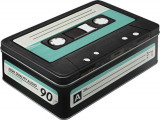Cutie de depozitare metalica - Retro Cassette