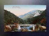 AKVDE20 - Carte postala - Vedere - Baile Herculane - Podul peste Cerna, Circulata, Printata