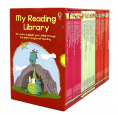 My Reading Library - x50 book boxed set - Usborne book (4+) foto