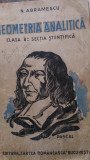 Geometrie analitica pentru clasa VIII sectia stiintificaN.Abramescu1935