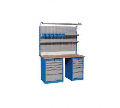 Banc de lucru modular 990MA11. 1155x1500x750 mm. Unior foto