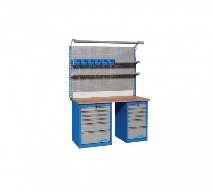 Banc de lucru modular 990MA11. 1155x1500x750 mm. Unior