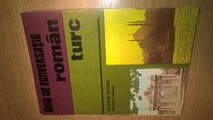 Ghid de conversatie roman-turc - Agiemin Baubec; Ferian Ismail (1978) foto