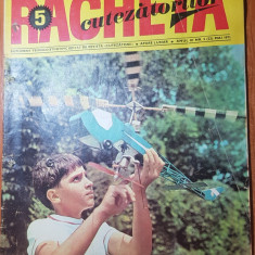 revista pentru copii - racheta cutezatorilor mai 1971