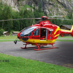 Macheta Elicopter Ec135 Air-Glaciers - 04986