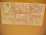B680-ww1-Harta militara de razboi veche 15-22 Noemb. 1915 Germania.