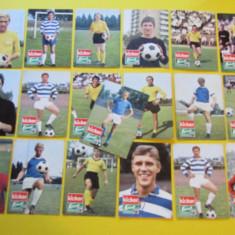 Lot 19 foto-cartonase (vechi) - jucatori fotbal (Germania-RFG-Bundesliga)