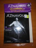 Charles Aznavour Les Comediens 1962 Cd audio+ booklet 28 pagini nou, sigilat