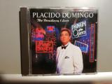 Placido Domingo - The Broadway.. (1991/Warner/UK) - CD ORIGINAL/Stare: ca Nou