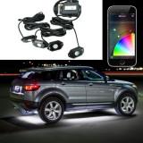 Kit Iluminare Sub Masina UnderCar LED RGB Multicolor cu Bluetooth si Control din Telefon