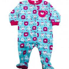 Salopeta / Pijama bebe cu iepurasi si ursuleti, 1-2 ani, 1-3 luni, 12-18 luni, 3-6 luni, 6-9 luni, 9-12 luni, Din imagine