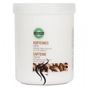 Crema de masaj cu COFFEINA Yamuna 1000 ml