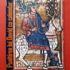 PSALTIREA LUI DAVID CU CAVALER manuscris × Cristina Lucia