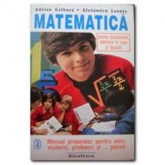 Matematica pentru bacalaureat, admitere in licee si facultati (anul 2)