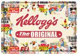 Placa metalica - Kellogg`s - The Original - 10x14 cm