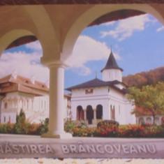 ROM- MANASTIREA BRANCOVEANU, SAMBATA -VEDERE DIN CURTEA MANASTIRII- NECIRCULATA