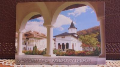 ROM- MANASTIREA BRANCOVEANU, SAMBATA -VEDERE DIN CURTEA MANASTIRII- NECIRCULATA foto