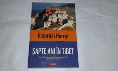 HEINRICH HARRER - SAPTE ANI IN TIBET foto