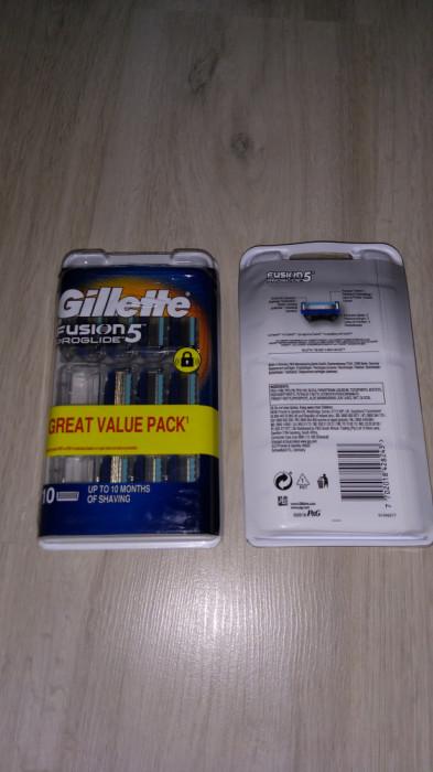 Gillette Proglide (set 10 rezerve) Fusion