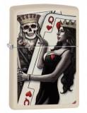 Cumpara ieftin Brichetă Zippo 29393 Skull King Queen Beauty