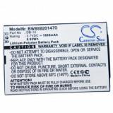 Baterie pentru Canon Wordtank Z400 și altele precum DB-10, 1600mAh
