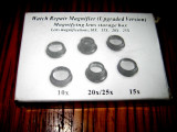 B188- Set Lupe Ceasornicar reparatii ceasuri China.