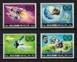 RAS AL KHAIMA 1969 - Cosmonautica, Programe spatiale / serie completa MNH, Nestampilat