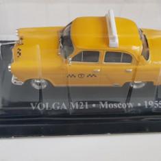 Macheta Taxi Volga M21 Moscow 1955 1:43