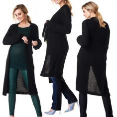 Cardigan tricotat pentru sarcina si alaptare Noppies
