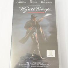 Caseta video VHS originala film tradus Ro - Wyatt Earp