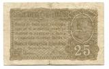 Ocuatia germana in Romania 25 bani 1917   VG   Serie si numar: F.22573908