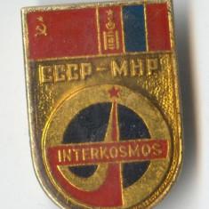 Insigna  INTERCOSMOS - aviatie - aerospatiale - cosmonautica