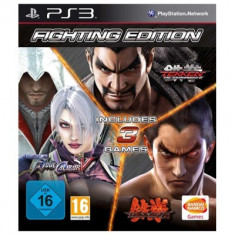 Fighting Edition: Tekken 6 + Soulcalibur 5 + Tekken Tag Tournament 2 PS3
