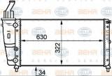 Radiator, racire motor FIAT PUNTO (176) (1993 - 1999) HELLA 8MK 376 718-081