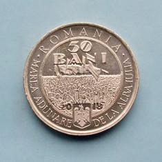 ROMANIA  -  50 Bani 2018  -  100 de ani de la Marea Unire
