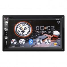 Radio Player Auto Kruger Matz, 2 Din, DVB-T, GPS, Bluetooth, Ecran tactil, 7 inch