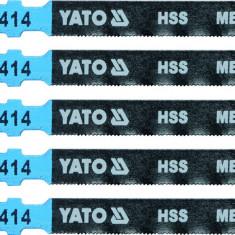 Lame HSS pentru fierastrau pendular 5 buc 32 TPI YATO