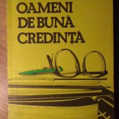 OAMENI DE BUNA CREDINTA - VLAD MUSATESCU
