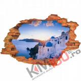 "Sticker ""Wall Crack"" Santorini 10 - 120 x 80 cm"