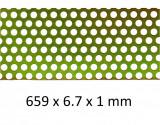 Sita moara de macinat cereale si furaje, orificii 2 mm, Oem