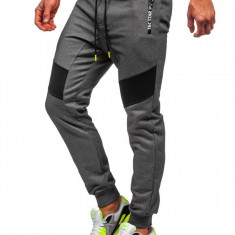 Cumpara ieftin Pantaloni de trening camuflaj grafit Bolf TC878