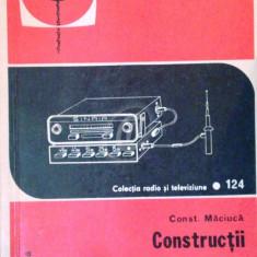 Constructii de radioreceptoare pentru automobile
