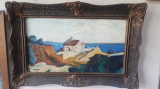 Pictura ulei - Peisaj - semnat Pacea, Peisaje, Realism